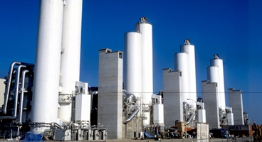 LZA/worlds largest air separation unit Cantarell /Mexico /nitrogen prodcution